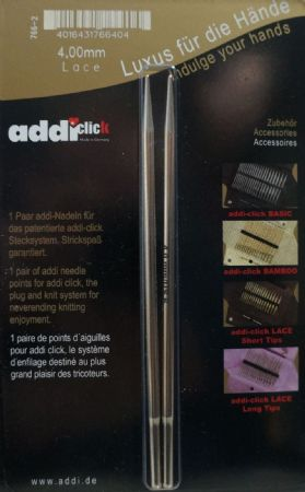 Addi Click Long Lace Needle Tips